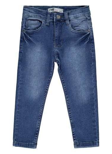 Civil Girls Erkek Çocuk Kot Pantolon  Mavi